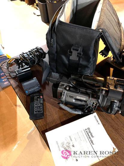 Sony digital camcorder DSRPD 150