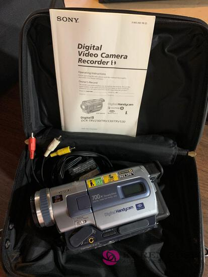 Sony digital eight handy cam camera