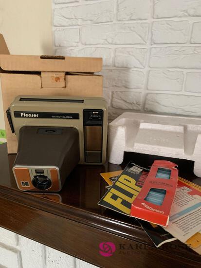 Vintage Kodak instant camera