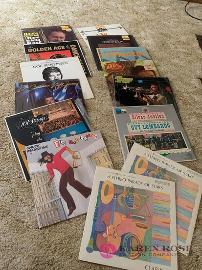 14 vintage records