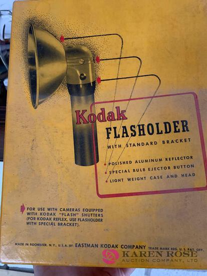 Kodak flash holder