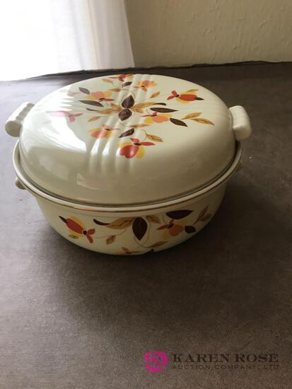 8 Halls Jewel Tea casserole dish with cover