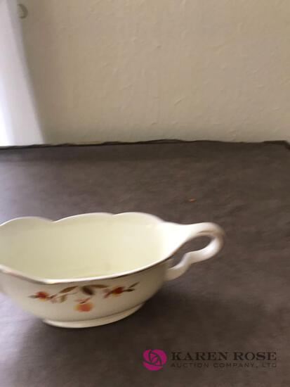 Halls Jewel Tea gravy boat