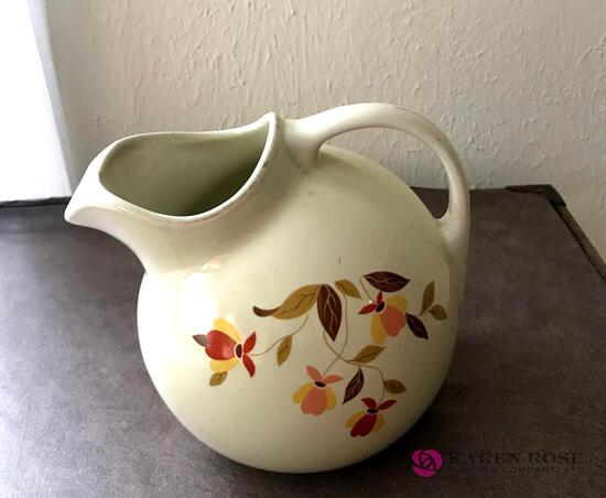 Halls Jewel tea pitcher