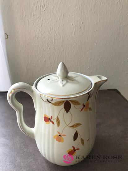Halls Jewel Tea coffee pot