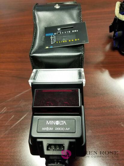 O1 - Minolta Camera Flash Attachment