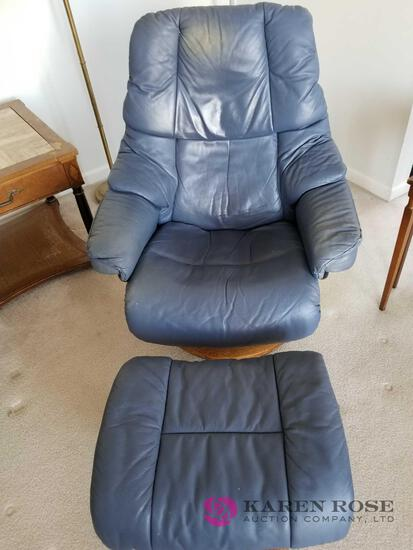 D - Chair and Footstool