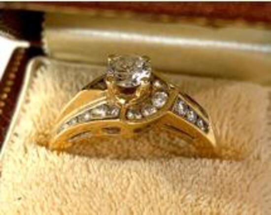 JEWELRY AUCTION! GOLD, SILVER, VINTAGE