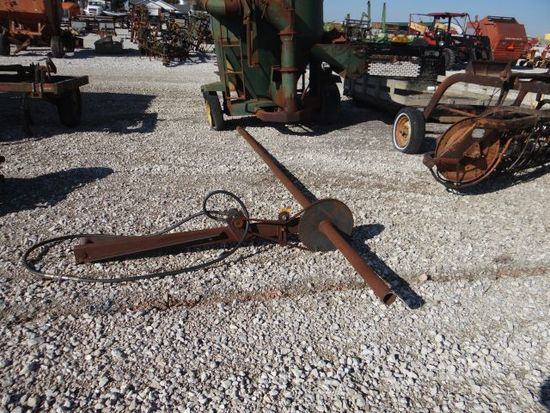 Pieces of a Hyd Drive Down Corn Unit