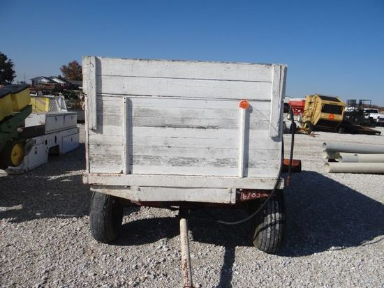 White grain wagon