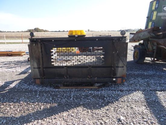Stahl flat truck bed