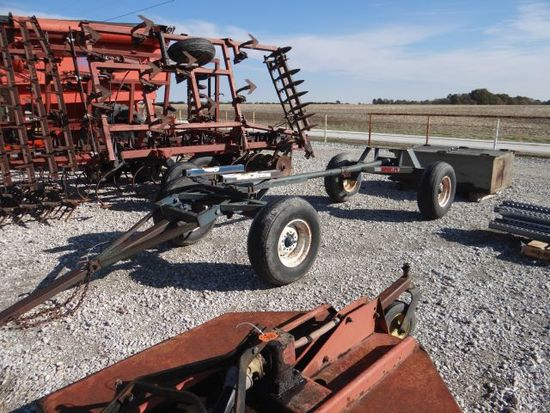 Anhydrous NH3 running gear