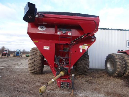 J&M 875 Grain Cart, 2016