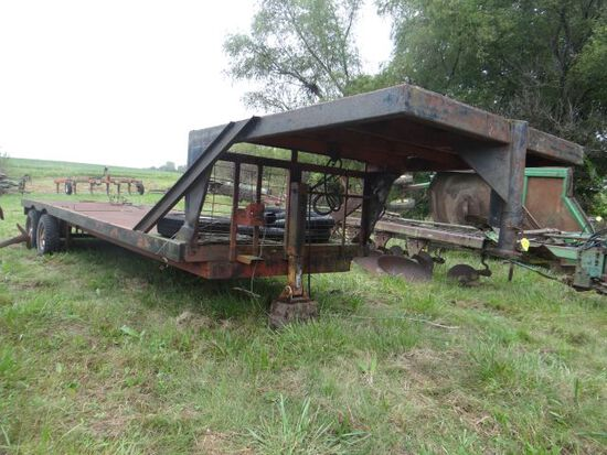 1967 Homemade Flat Bed Trailer