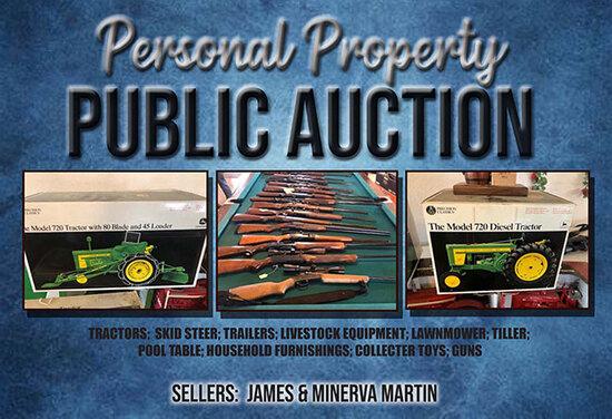 Personal Property Public Auction- Barnett, MO