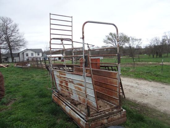 Lesco Mechanical Scales for Cattle