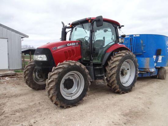 Case IH Maxxum 110 Tractor, 2011