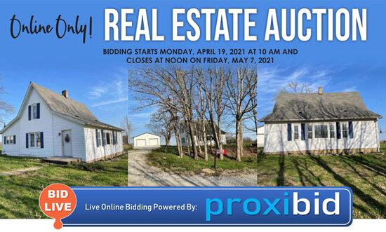 Online Only Real Estate Auction- Paris, MO