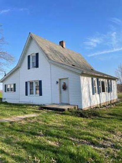 5 Acres w/3-4 BR Home, 1BA, & Morton Building