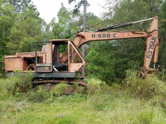 *absentee* Insley model H600C excavator