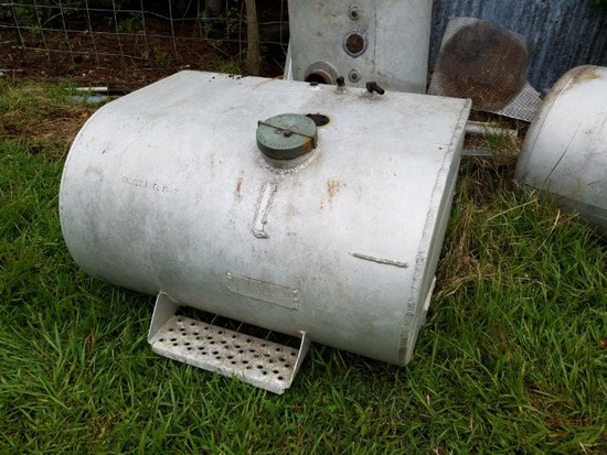 *absentee* round aluminum fuel tank
