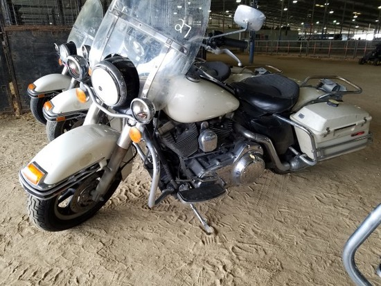 2007 HARLEY DAVIDSON POLICE MOTORCYCLE 6SPEED