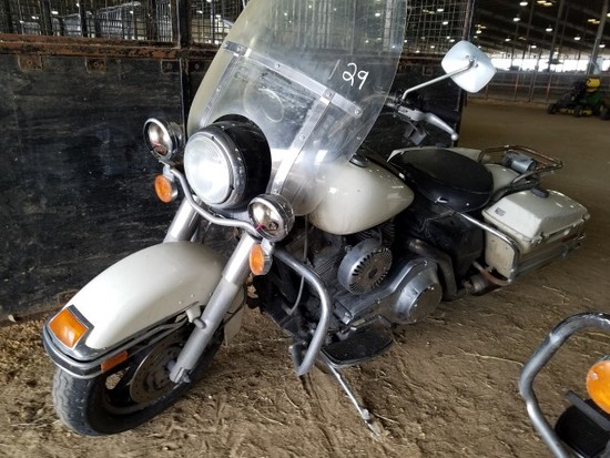 2002 HARLEY DAVIDSON POLICE MOTORCYCLE 6SPEED