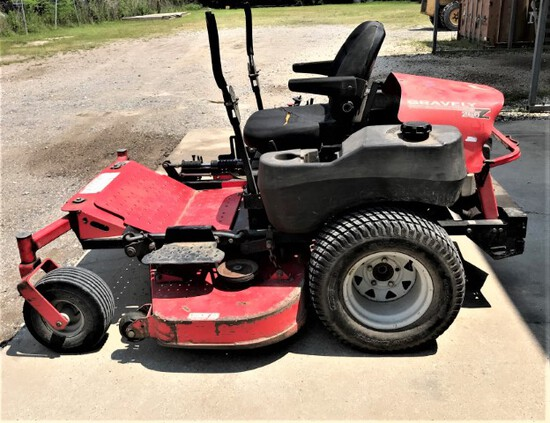Gravely 260Z zero turn mower