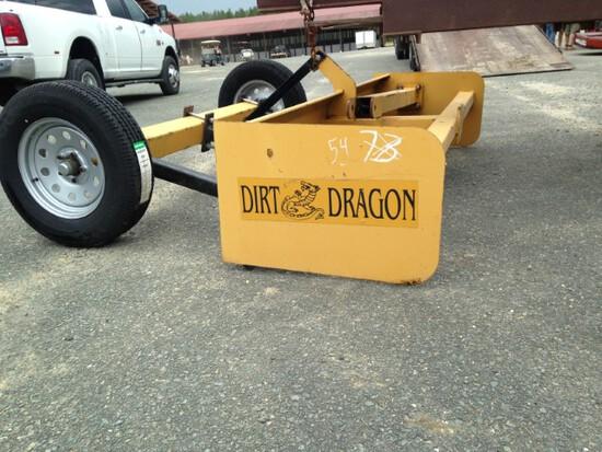 New Dirt Dragon 8' drag type landscape box