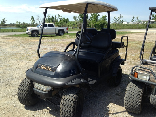 club cart (small dent) 4 seater black