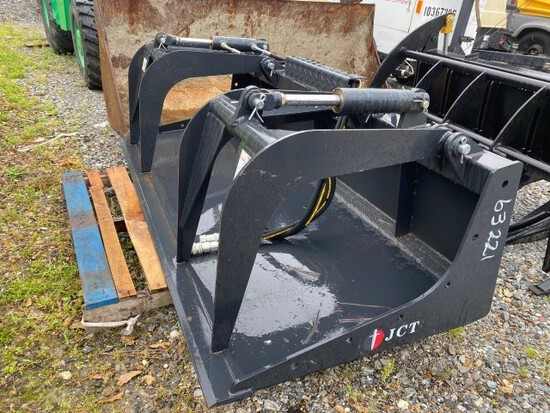 "New JCT skid steer 72"" grapple bucket"