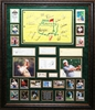 The Masters 2010 Collage with Signatures