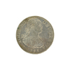 1793 Spanish Colonial 8 Reales Carolus IIII Pillar Silver Coin
