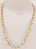 *Fine Jewelry 14KT Gold, 18'' Fancy Style Necklace (FJ F321)