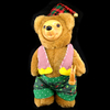 Robert Raikes Christmas Craftsmen Bear Holiday Decoration