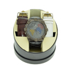Men's Ice Maxx Designer Round Watch On Case and Interchangeable White & Burgundy Band
