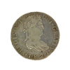 1821 Extremely Rare Eight Reales American First Silver Dollar Coin