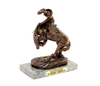 Rattlesnake - By Frederic Remington- Bronze Reissue