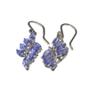 APP: 2.2k Fine Jewelry 2.45CT Marquise Cut Tanzanite And Platinum Over Sterling Silver Earrings