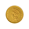 1861 $1 U.S. Indian Head Gold Coin - Great Investment - (JG PS)