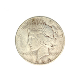 1934-S U.S. Peace Type Silver Dollar Coin