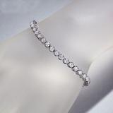 APP: 16.5k *Fine Jewelry 14KT White Gold, 7.00CT Round Brilliant Cut Diamond Bracelet (VGN A-43) (Va