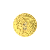 Extremely Rare 1925-D $2.50 U.S. Indian Head Gold Coin