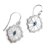 APP: 0.6k 0.30CT Marquise Cut Kyanite And Sterling Silver Earrings