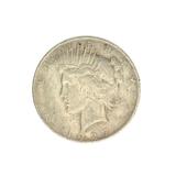 1927-D U.S. Peace Type Silver Dollar Coin