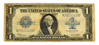 Nice 1923 $1 Large Size Silver Certificate