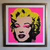 Andy Warhol (After) Museum Framed Marilyn Monroe ''''Sunday B. Morning'''' Lithograph