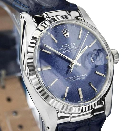 *Rolex Swiss Made 16014 Quickset 18K SS Oyster Perpetual 1982 Auto Watch  -P-