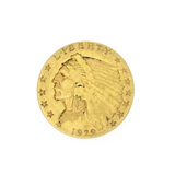 Extremely Rare 1929 $2.50 U.S. Indian Head Gold Coin