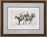 *Rare Giclee Limited Edition 01 by Fredrick Remington Plate Signed Great Investment